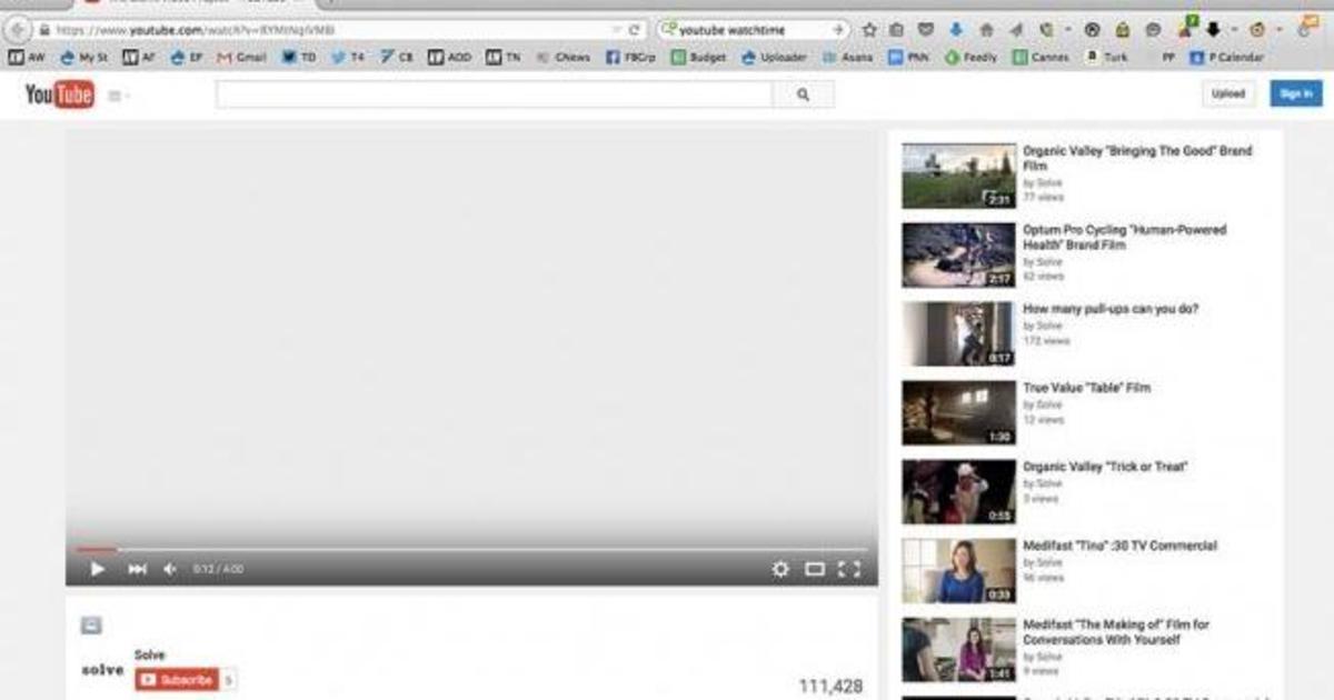 Совершенно пустое видео агентства собрало 100 000 просмотров на YouTube.