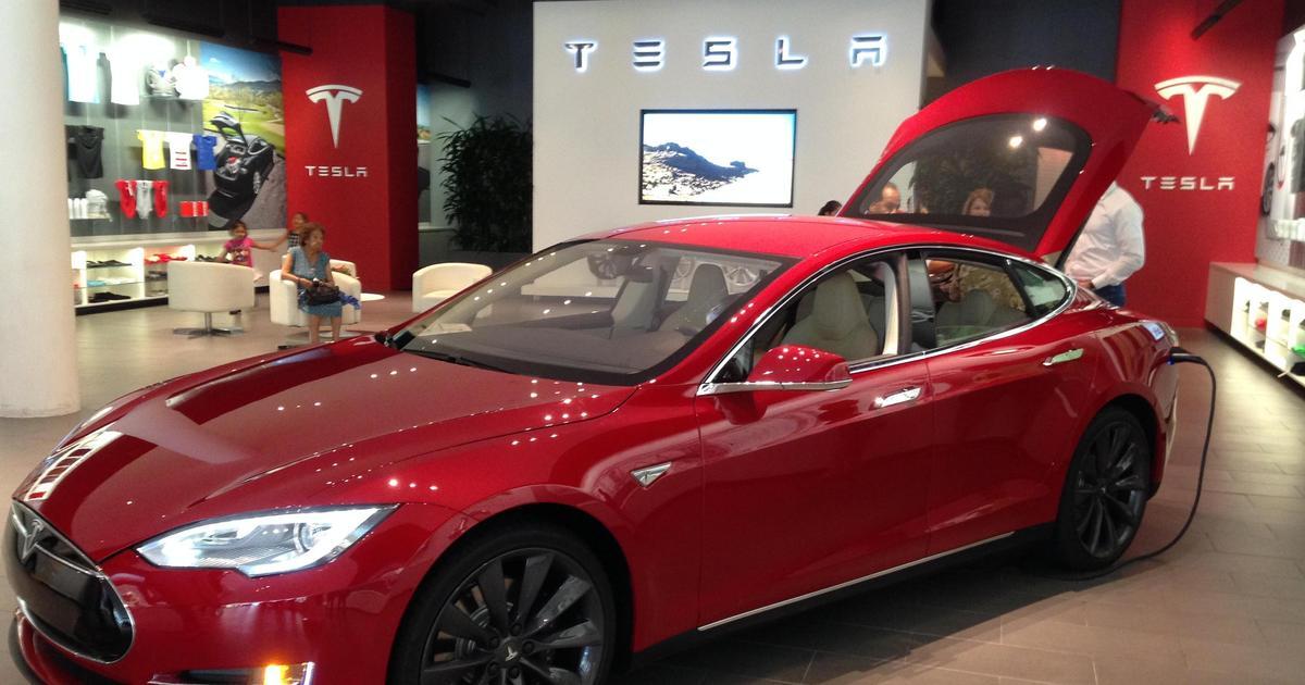 Tesla сменит оформление магазинов.