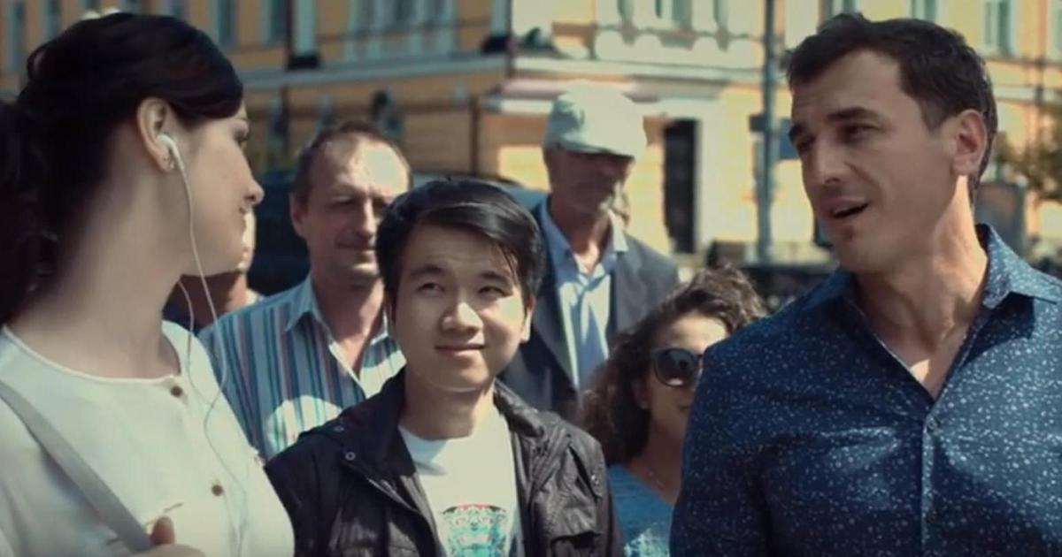 Украинцы спели на улицах в рекламной кампании «Чернігівського».