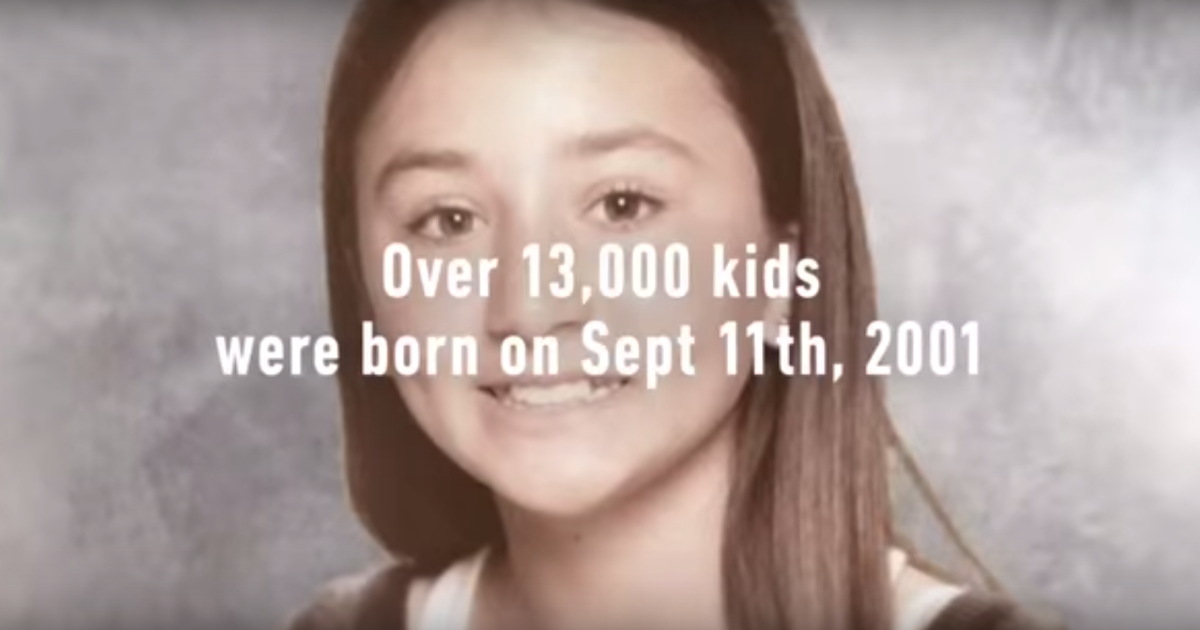В кампании к 9/11 Grey NY взяли интервью у родившихся в день теракта.