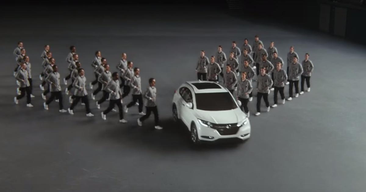 Honda использовала японское «коллективное действие» в рекламе нового HR-V.