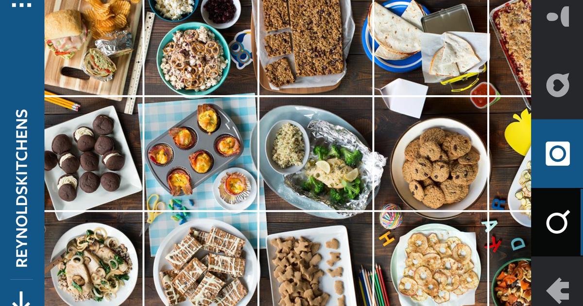 Havas Chicago создало книгу рецептов в Instagram для Reynolds Wrap.