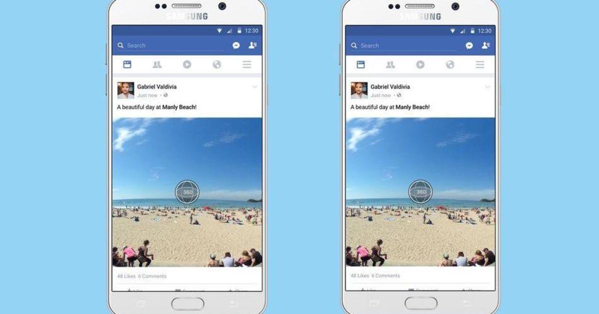 В ленте Facebook появятся 360-градусные фото.