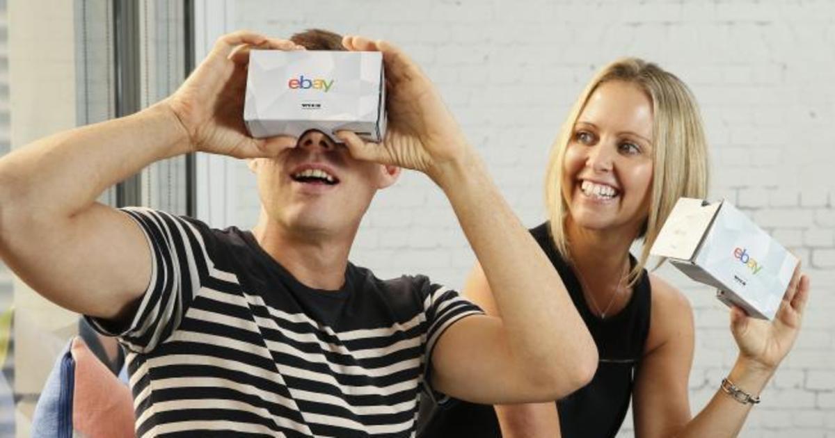 eBay открылся в виртуальной реальности.
