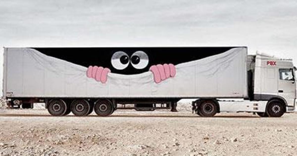 Truck Art: Грузовики трансформировали в объекты искусства.