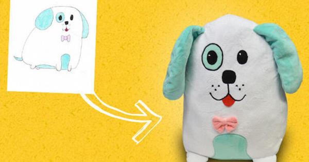 Crayola превратила детские рисунки в игрушки.