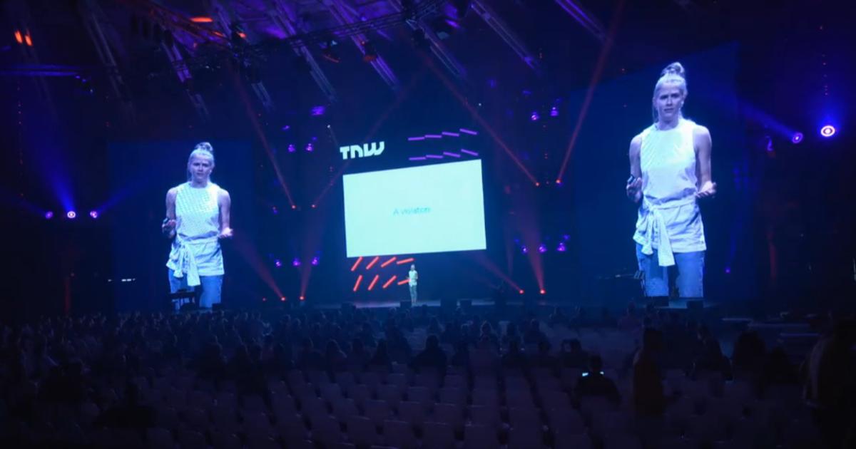 Опасные технологии. 5 месседжей от активистки Эммы Холтен на TNWEurope.