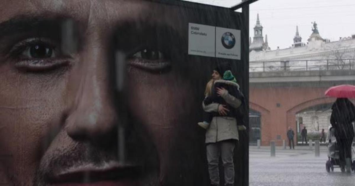 Плачущий билборд.