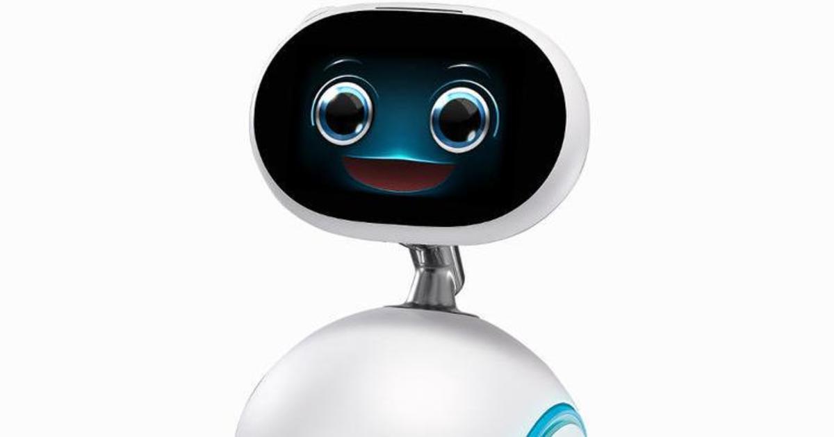 Asus представил многофункционального домашнего робота Zenbo.