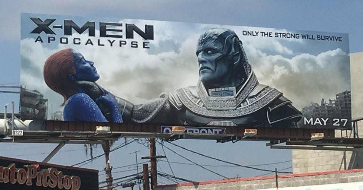 20th Century Fox демонтирует все билборды со сценой удушения из Людей Икс.