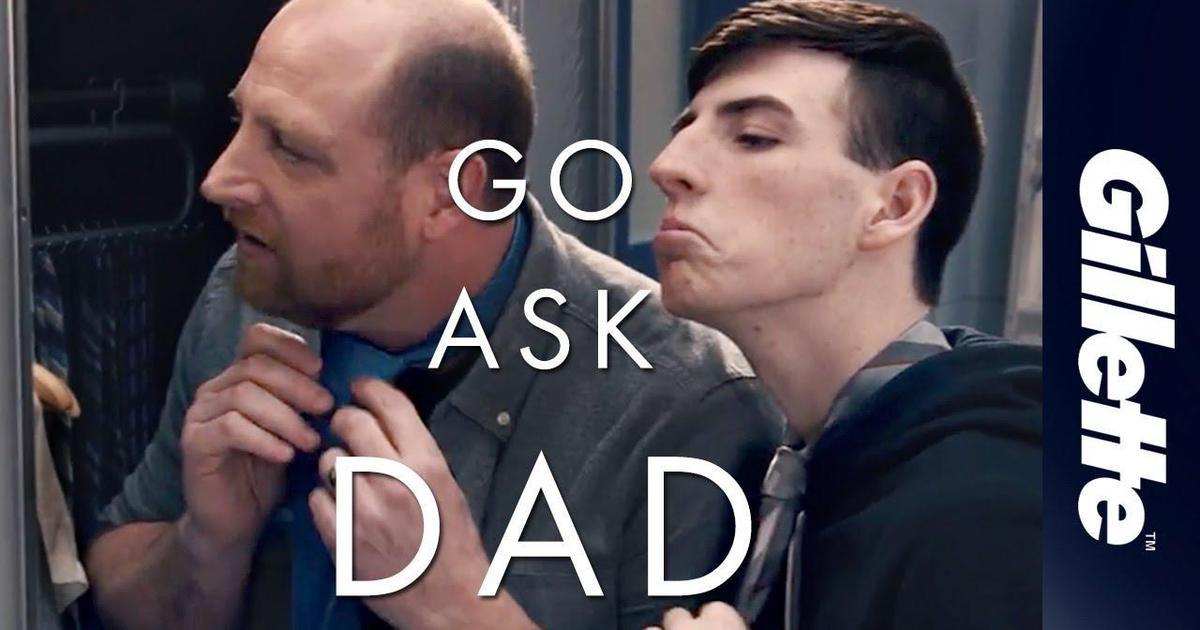 Gillette запускает кампанию для подростков «спроси у папы как».