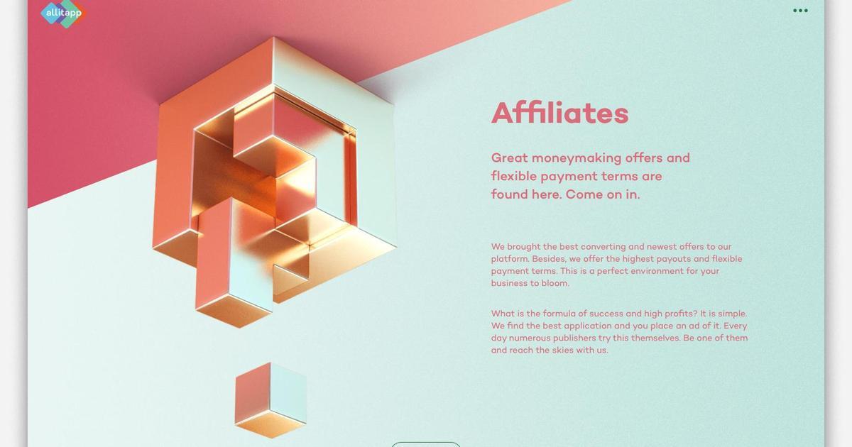 Креативное digital агентство VGNC разработало сайт для бренда allitapp.