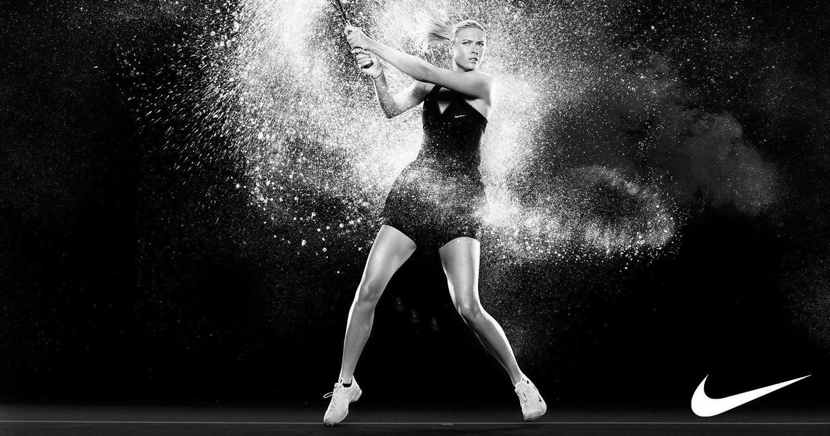 Nike поддержала Марию Шарапову и продлила с ней контракт.