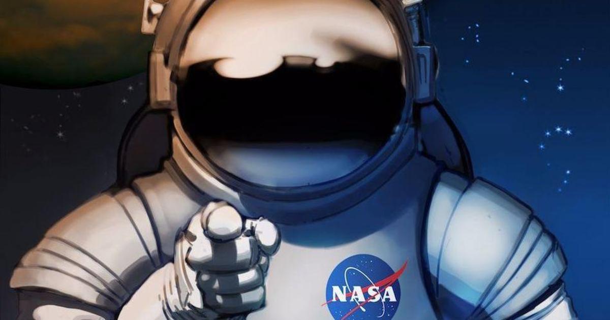 NASA агитирует покорить Марс винтажными постерами.