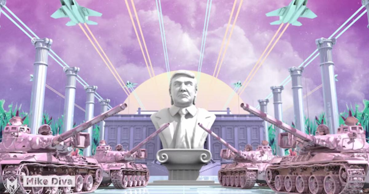 Дональд Трамп разрушил Землю в абсурдной японской пародии.