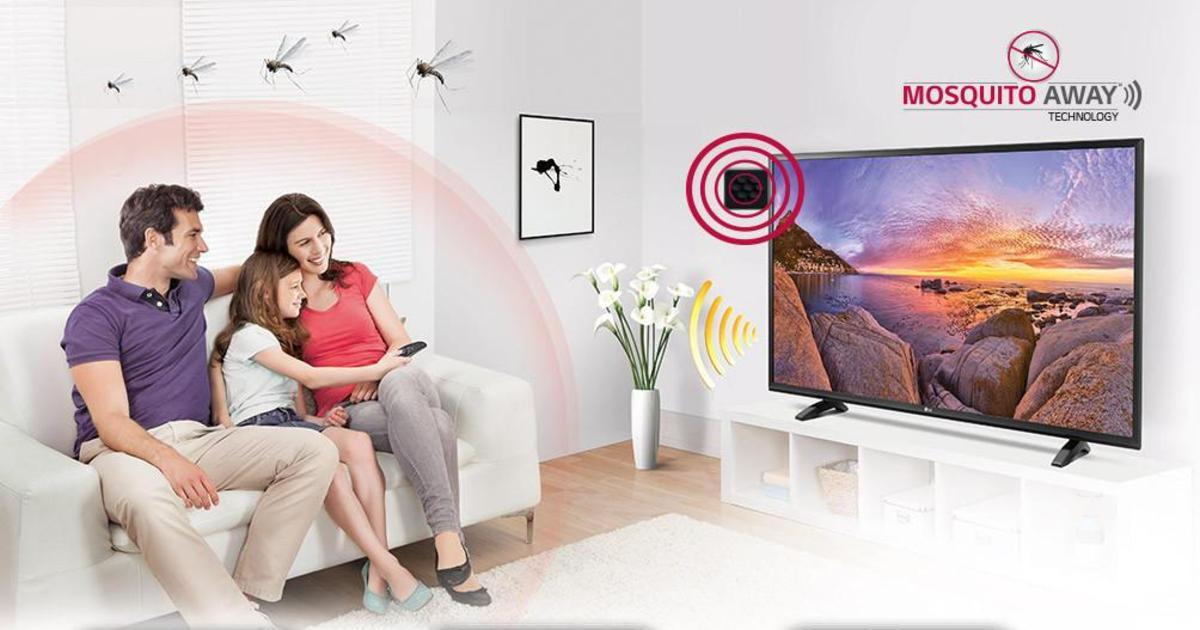 LG выпустила линейку противокомариных телевизоров.