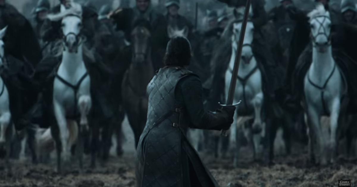 HBO показали, как снимали финальную битву Игры Престолов.