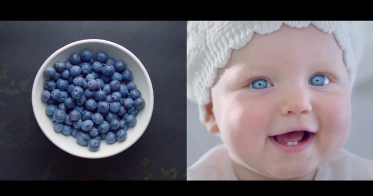 Gerber использовала визуальную схожесть детей с фруктами в промо-кампании.