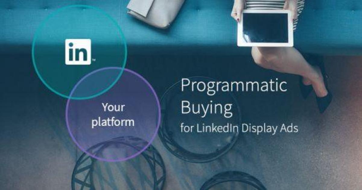 LinkedIn представила programmatic рекламу.