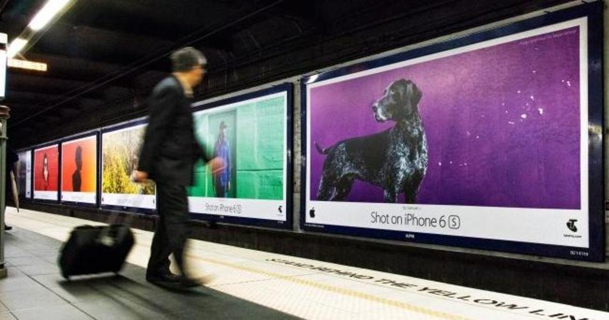 «Снято на iPhone»: глобальная Outdoor кампания Apple показала мир в цвете.
