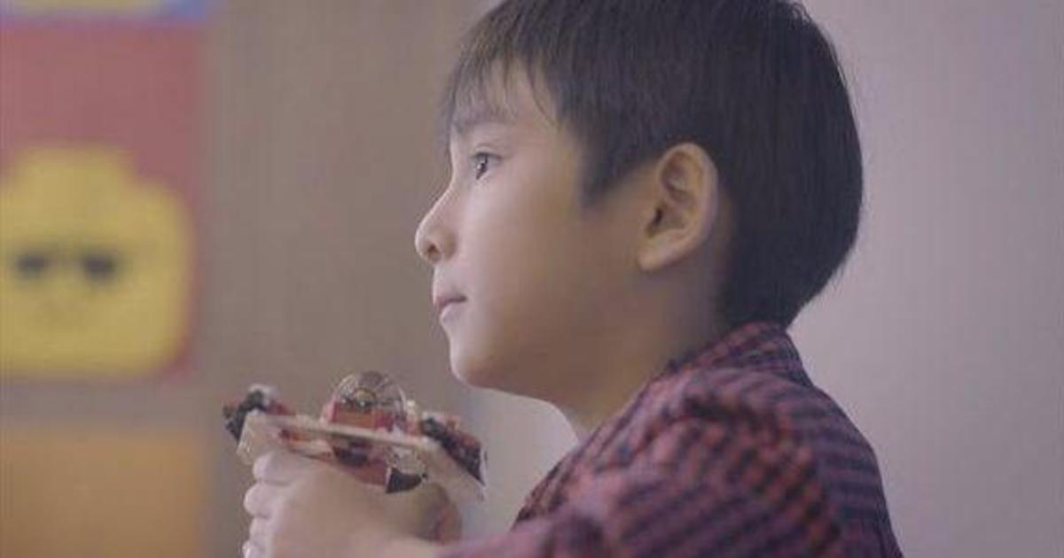 Lego использовал воображение 6-летнего сына, чтобы привлечь внимание отца.