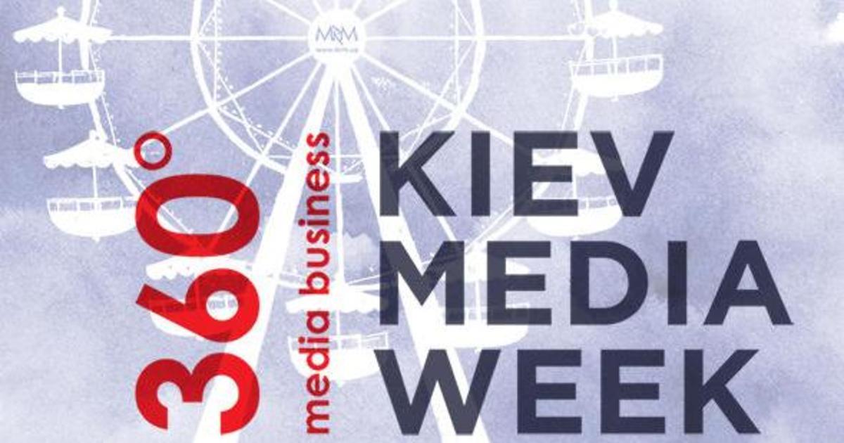Kiev Media Week разворачивает украинский медиабизнес на 360 градусов.