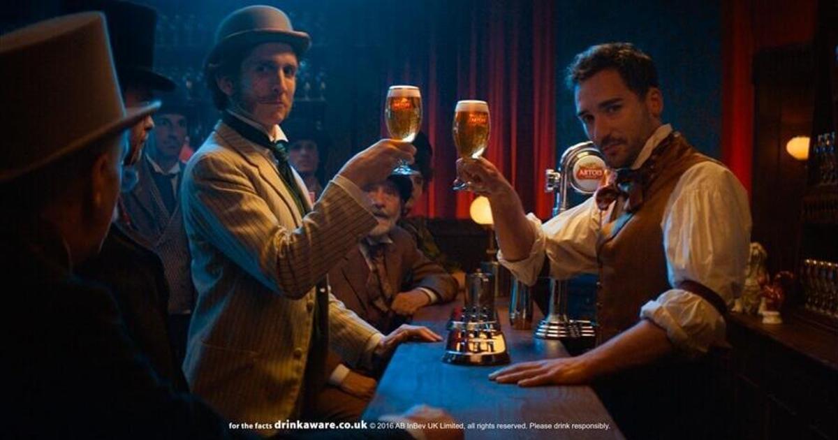 Stella Artois перенесли Уимблдон в викторианский Лондон.