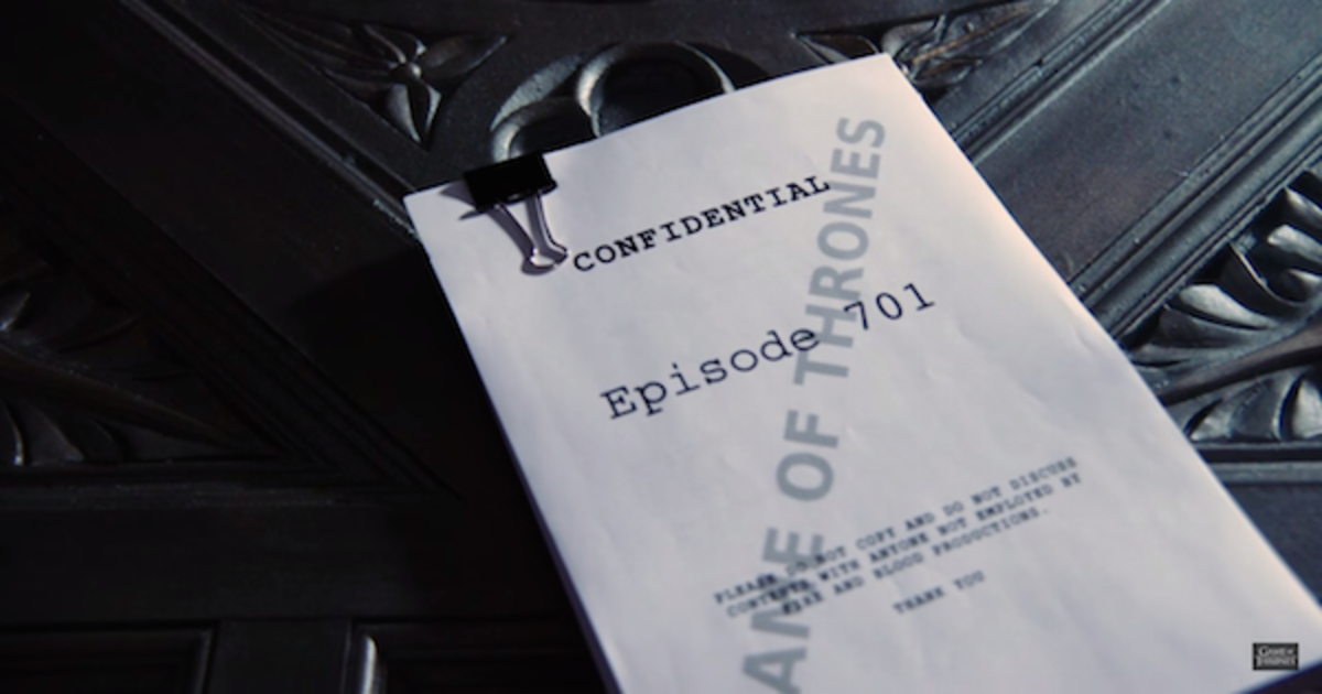 Тизер 7 сезона «Игры Престолов» приоткрыл завесу над созданием сериала.