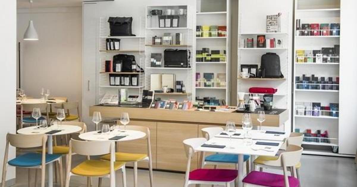 Moleskine открыл кафе в Милане.
