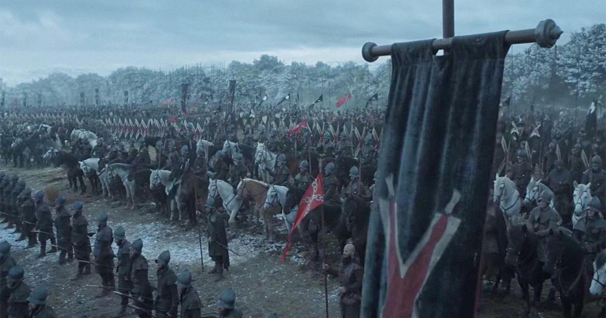 Креативное промо: «Игра престолов» сформировала политическую партию.