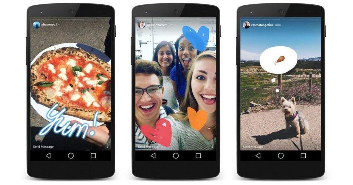 Facebook копирует Snapchat, запустив Instagram Stories.