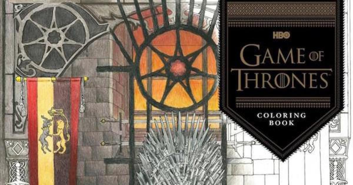 У «Игры Престолов» появилась своя книга-раскраска.