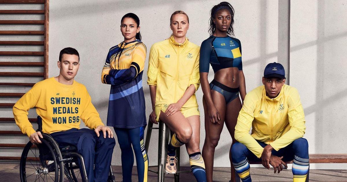 H&M одели олимпийскую сборную Швеции в экоформу.