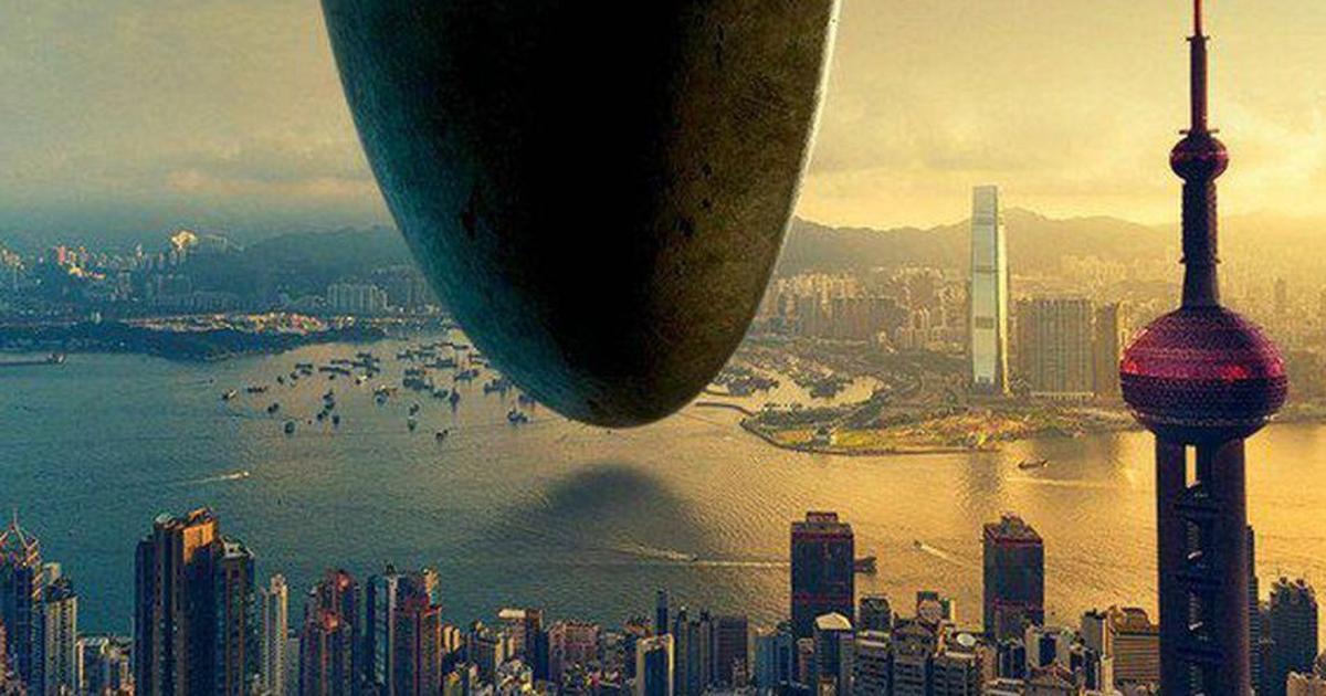 Пользователи высмеяли постеры фильма «Прибытие» из-за ошибки.