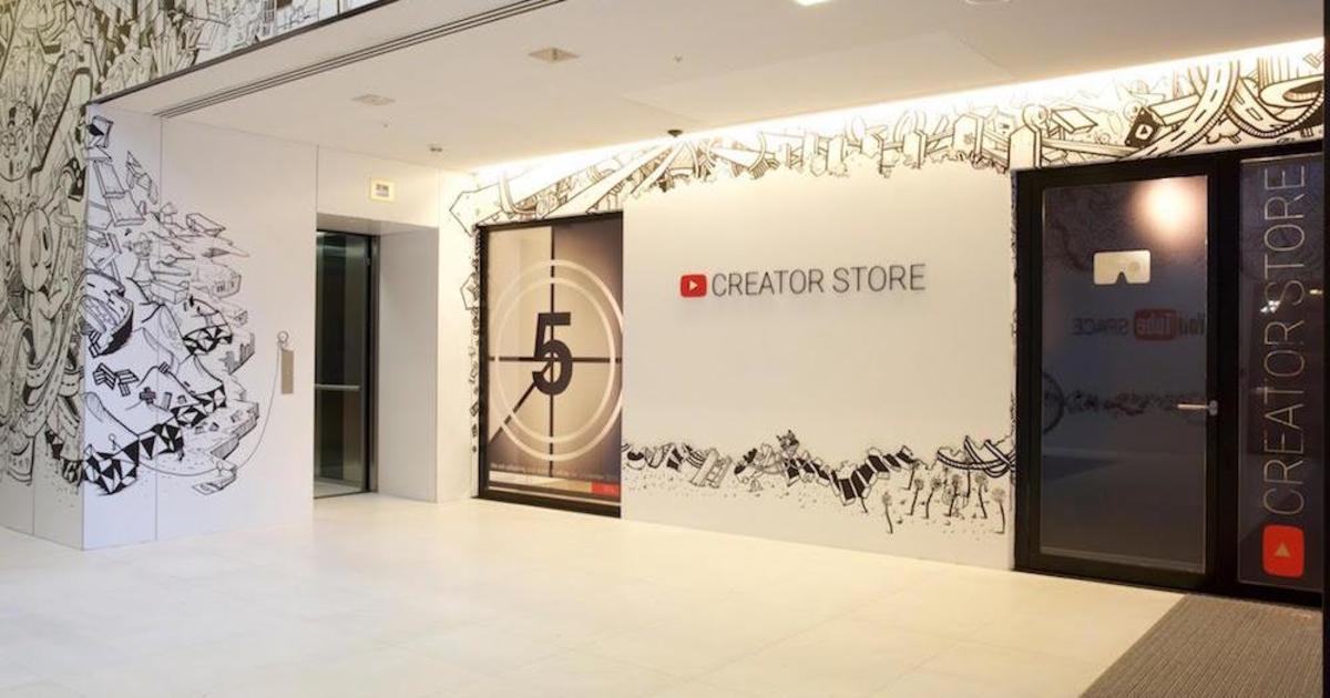В Лондоне откроется первый магазин YouTube.