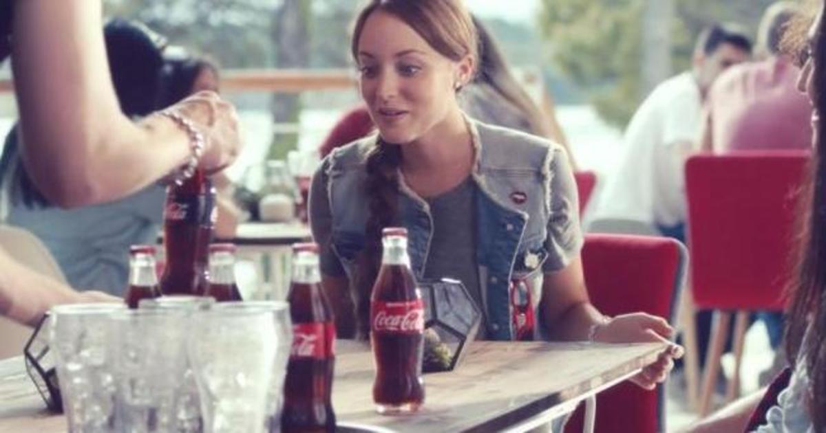 Coca Cola добавила немного волшебства в рекламе от David.