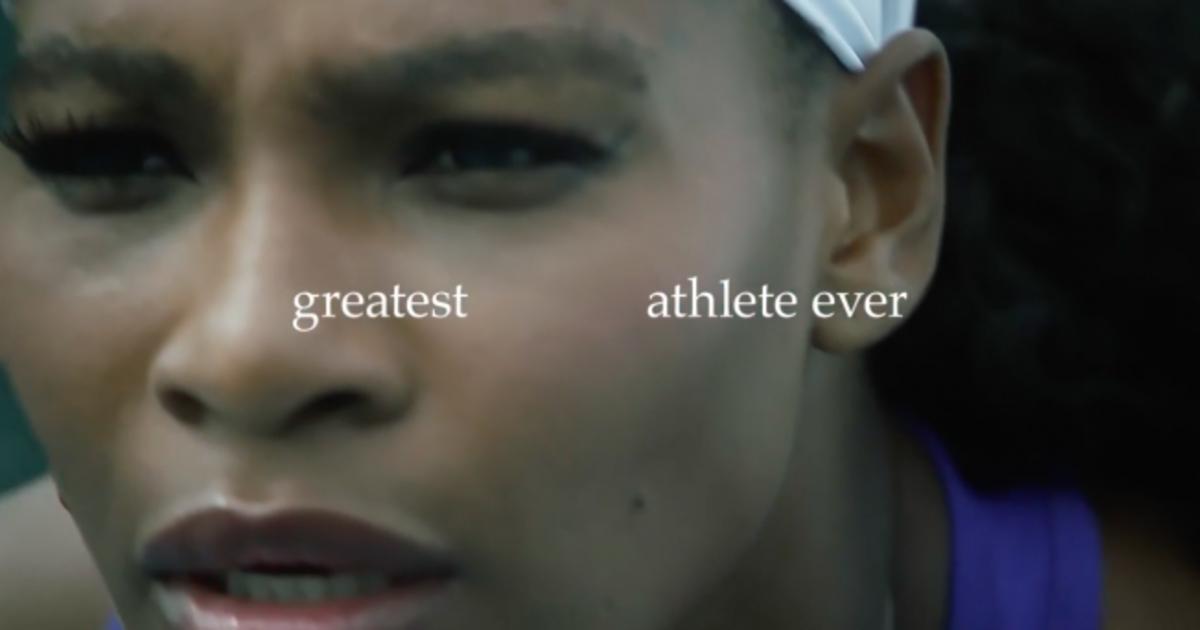 Nike назвал Серену Уильямс величайшим спортсменом в новом ролике от W+K.