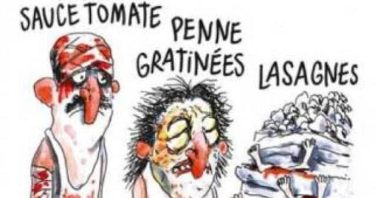 Charlie Hebdo вызвал гнев карикатурой на землетрясение в Италии.