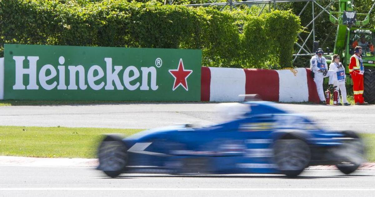 Легенды Формулы 1 не пьют пиво в рекламе Heineken.