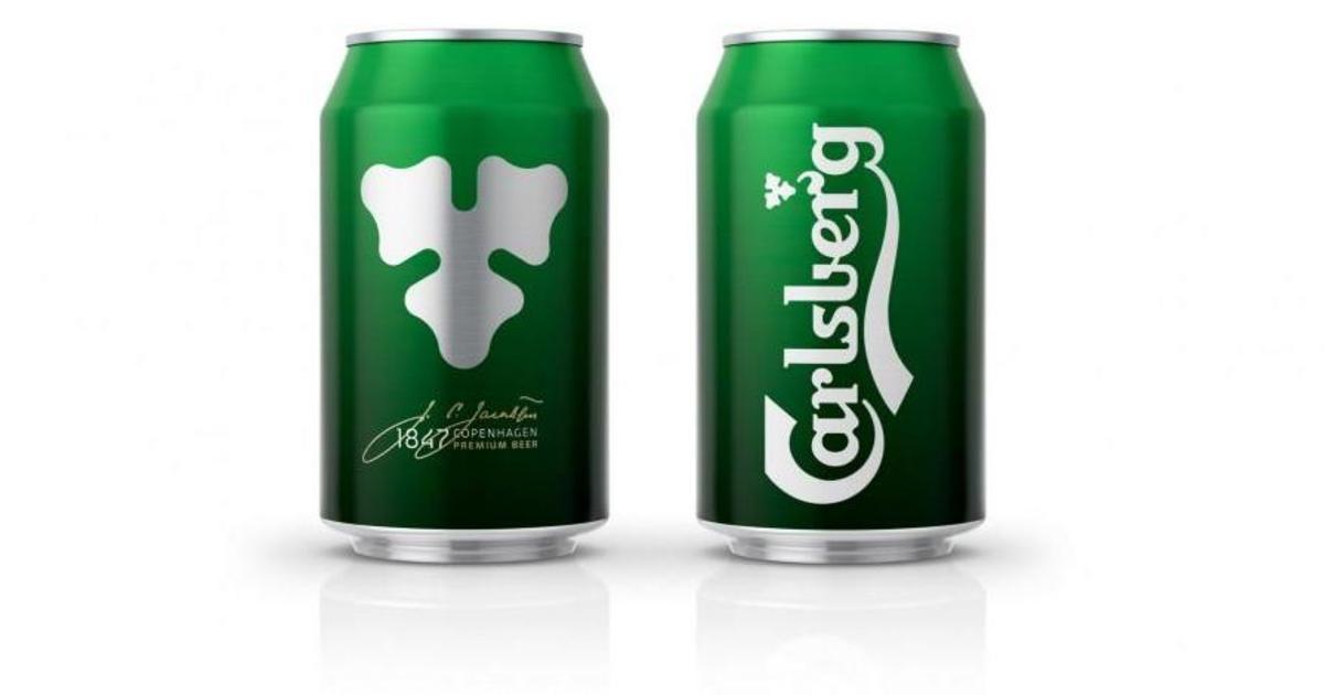 В борьбе за покупателя Carlsberg перешел на минималистический дизайн.