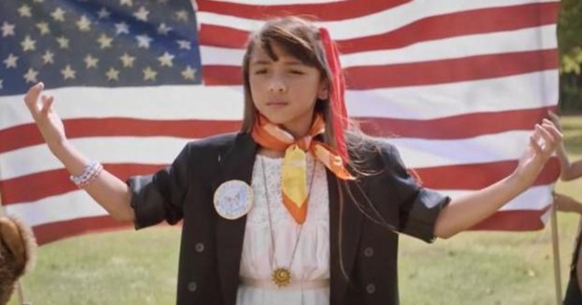 Социальная кампания вдохновляет девочек баллотироваться в органы власти.