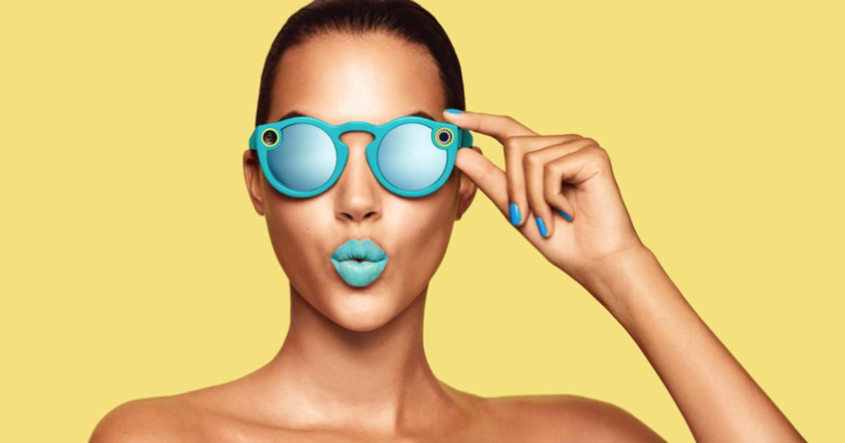 Snapchat представил солнцезащитные очки со встроенной камерой.