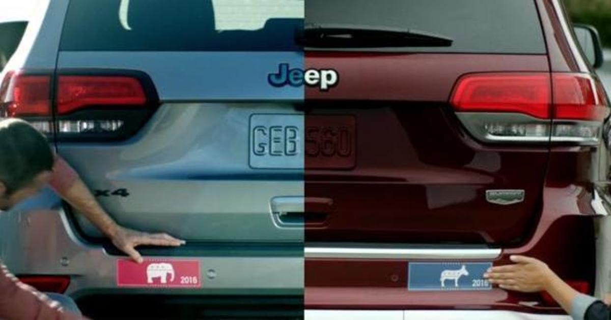 Jeep показал объединяющий ролик во время первых президентских дебатов.