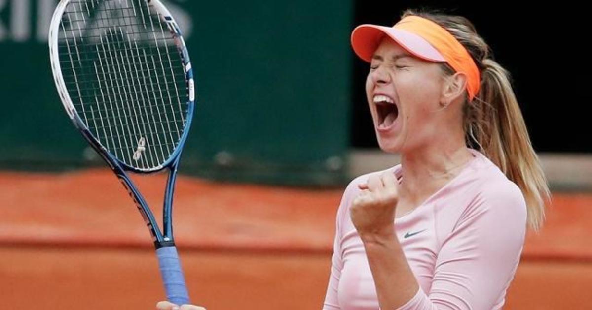 Марие Шараповой разрешают играть с апреля 2017 года.