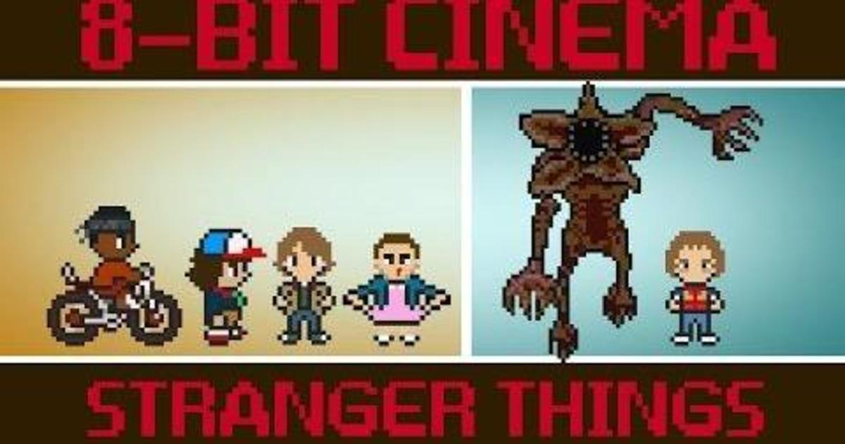 Netflix сняли 8-битный короткометражный фильм по мотивам Stranger Things.