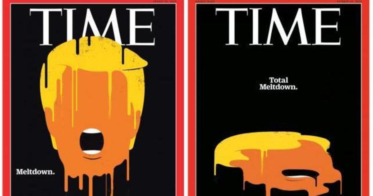 Полный провал: Time обновил обложку с растаявшим Трампом.