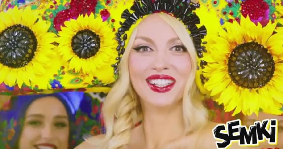 Оля Полякова сменила Верку Сердючку в рекламе ТМ Semki.