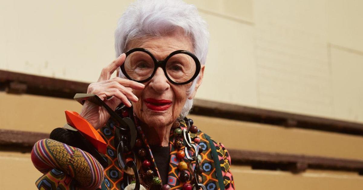 Айрис Апфель снялась в рекламе оправ премиум класса.