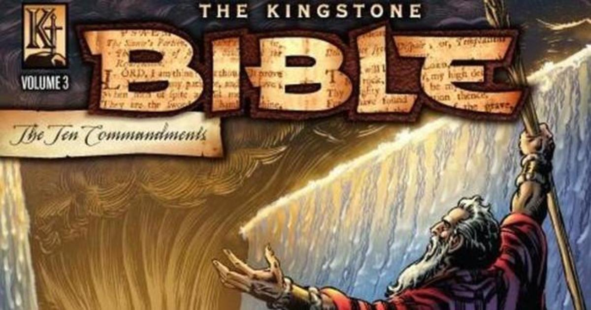 Американское издательство выпустило Библию в комиксах.