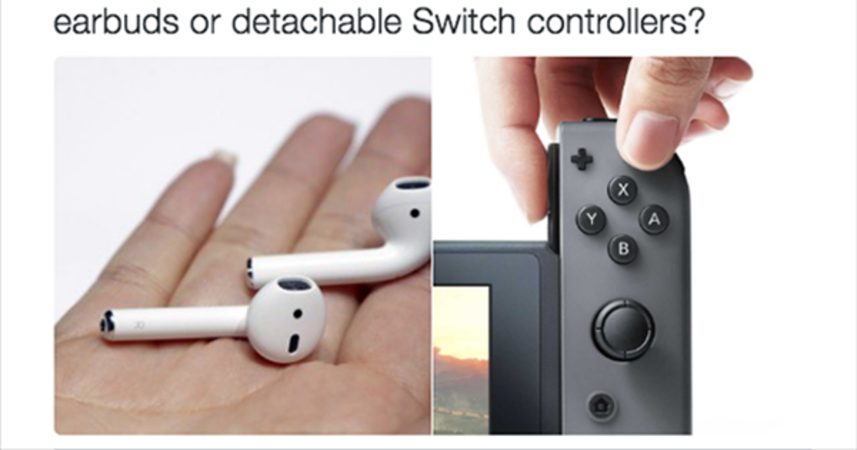 Игровой пульт Nintendo вызвал серию фотожаб.